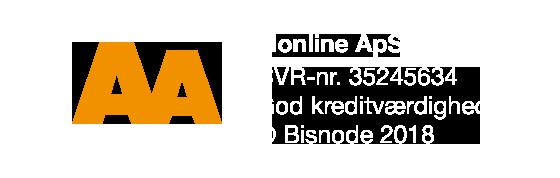 Vi er en kreditværdig virksomhed baseret på Bisnodes kreditvurderingssystem. Vurderingen er foretaget ud fra en mængde forskellige beslutningsregler. Oplysningerne bliver opdateret dagligt via Bisnodes database. Kreditvurderingen af virksomheden er således altid aktuel.